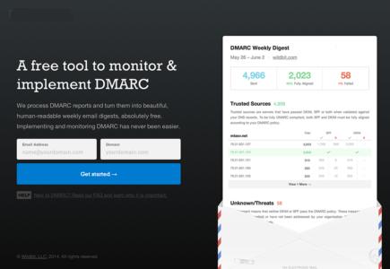 A Network Diagnostic Tool With DMARC Analyzer